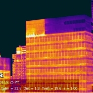 Building thermography inspection