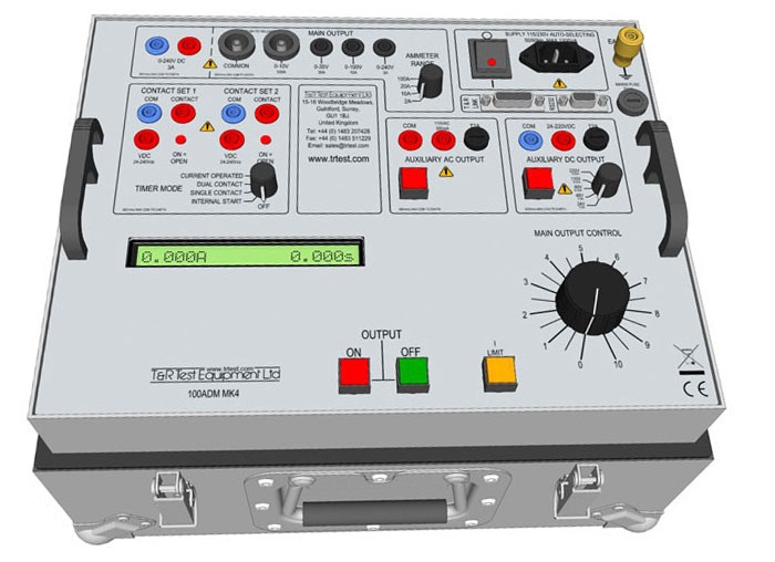 Overhead Primary Voltage Tester : Primary current injection test carelabz
