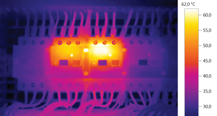 Thermography Testing of Electrical Panel | Carelabz com